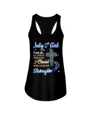 27th july christ Ladies Flowy Tank thumbnail