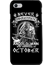 OCTOBER MAN  Phone Case tile