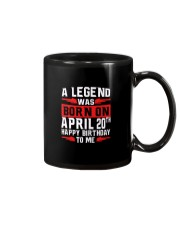20th April legend Mug thumbnail