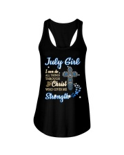 H - July Girl Ladies Flowy Tank thumbnail