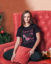 SEPTEMBER GIRL Ladies T-Shirt lifestyle-holiday-womenscrewneck-front-2