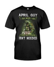 APRIL GUY Classic T-Shirt front
