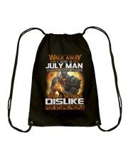 JULY MAN  Drawstring Bag thumbnail