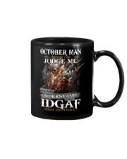 OCTOBER MAN LHA Mug tile