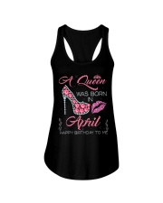 APRIL QUEEN Ladies Flowy Tank tile
