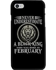 FEBRUARY MAN Phone Case tile