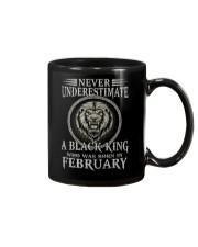 FEBRUARY MAN Mug tile