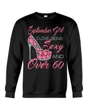 SEPTEMBER GIRL OVER 60 Crewneck Sweatshirt thumbnail