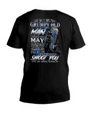 MAY MAN  V-Neck T-Shirt thumbnail