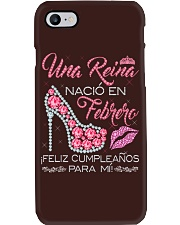 UNA REINA FEBRERO Phone Case tile