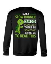 SLOW RUNNER Crewneck Sweatshirt thumbnail