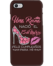 15 DE MARZO Phone Case thumbnail