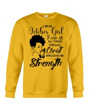 OCTOBER GIRL Crewneck Sweatshirt tile