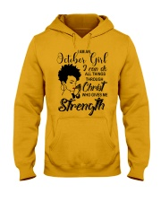 OCTOBER GIRL Hooded Sweatshirt thumbnail