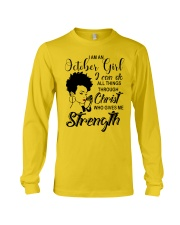 OCTOBER GIRL Long Sleeve Tee thumbnail