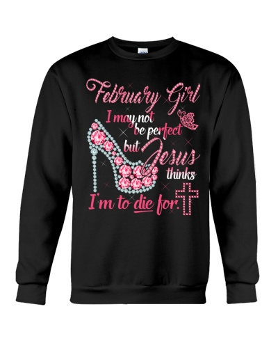 February shirt Printing Birthday shirts for Women