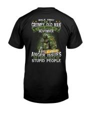 H - NOVEMBER MAN Classic T-Shirt back