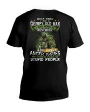 H - NOVEMBER MAN V-Neck T-Shirt thumbnail