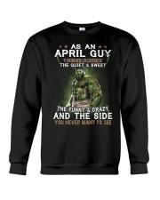 H - APRIL GUY Crewneck Sweatshirt thumbnail