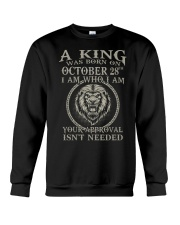 OCTOBER KING 28 Crewneck Sweatshirt tile