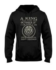 OCTOBER KING 28 Hooded Sweatshirt tile