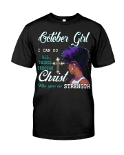 October Girl Classic T-Shirt thumbnail