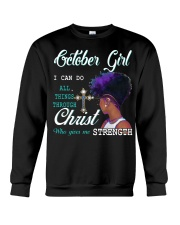 October Girl Crewneck Sweatshirt thumbnail