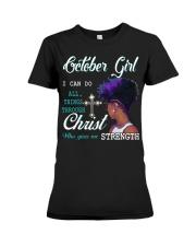 October Girl Premium Fit Ladies Tee thumbnail