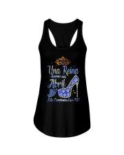UNA REINA ABRIL Ladies Flowy Tank thumbnail