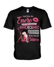 REINA DE ENERO V-Neck T-Shirt thumbnail