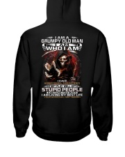 GRUMPY OLD MAN STUPID PEOPLE Hooded Sweatshirt thumbnail