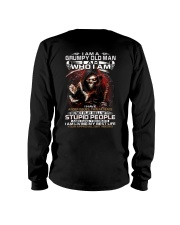 GRUMPY OLD MAN STUPID PEOPLE Long Sleeve Tee thumbnail