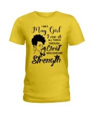 MAY GIRL Ladies T-Shirt tile