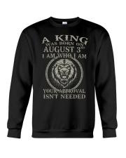 AUGUST KING 3 Crewneck Sweatshirt tile