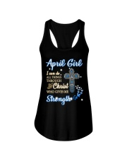 April Girl Ladies Flowy Tank thumbnail
