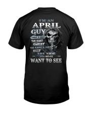 H- APRIL MAN Classic T-Shirt back