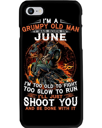 H - Grumpy old man June tee Cool T shirts for Men