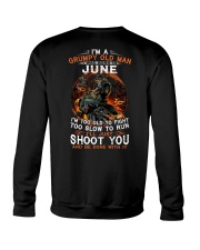 H - Grumpy old man June tee Cool T shirts for Men Crewneck Sweatshirt thumbnail