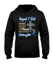 2nd August christ Hooded Sweatshirt thumbnail