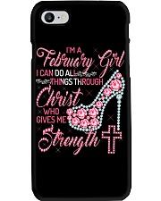 FEBRUARY GIRL Z Phone Case thumbnail