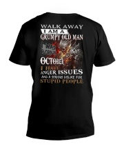 H - GRUMPY OLD MAN M10 V-Neck T-Shirt thumbnail