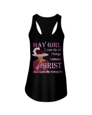 May Girl Christ Ladies Flowy Tank thumbnail