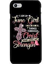 JUNE GIRL Phone Case tile