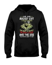 H - AUGUST GUY Hooded Sweatshirt thumbnail