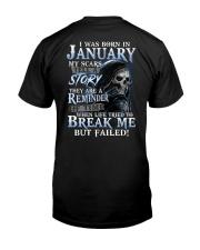 JANUARY MAN Classic T-Shirt back