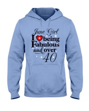 Fabulous over 40 T6 Hooded Sweatshirt thumbnail