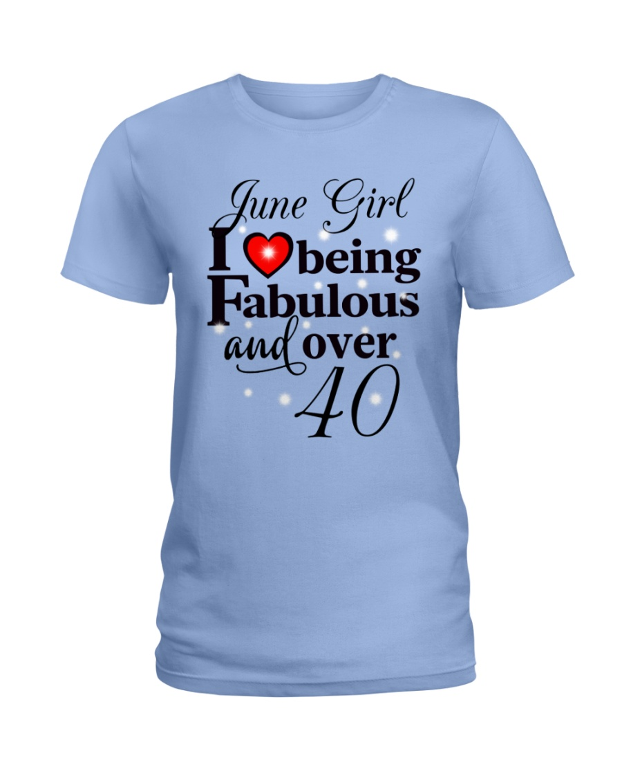Fabulous over 40 T6 Ladies T-Shirt