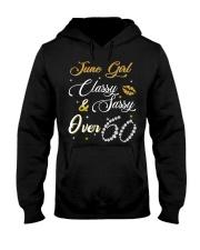 June Girl Over 60 Hooded Sweatshirt thumbnail