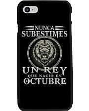 REY DE OCTUBRE Phone Case tile