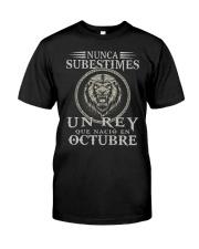 REY DE OCTUBRE Classic T-Shirt front